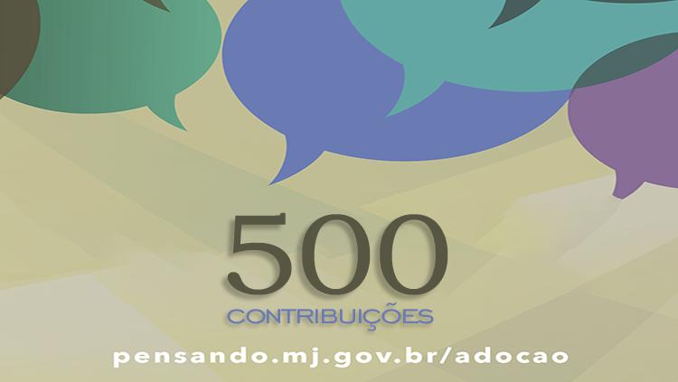 Debate público sobre adoção já recebeu mais de 500 contribuições da sociedade