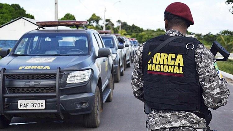 Força Nacional inicia operação em São Luis (MA) nesta quarta