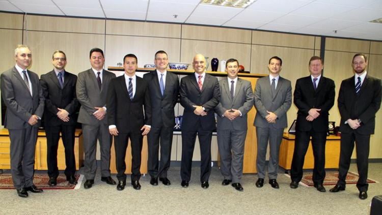 Ministro da Justiça e Cidadania é recebido por diretores da Polícia Federal