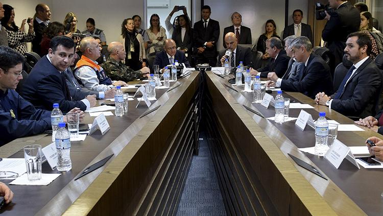MJC firma convênios com SP para reforçar segurança nas Olimpíadas