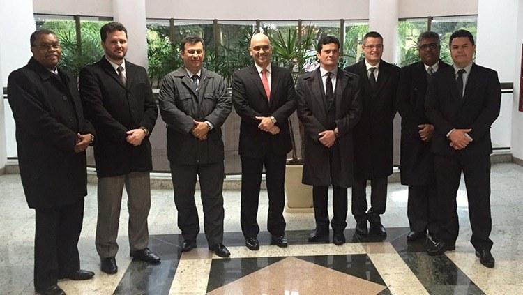 Moraes vai a Curitiba em visita de apoio às equipes que atuam na Lava Jato