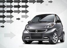 Alerta de recall para veículos Smart da Mercedes-Bens
