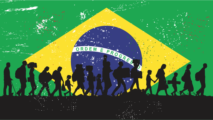 Brasil tem aumento de 12% no número de refugiados em 2016