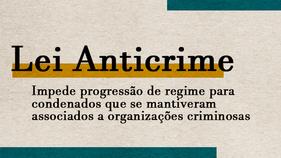Pela proposta, as lideranças de organizações criminosas armadas ou que tenham armas à disposição ainda deverão iniciar o cumprimento da pena em estabelecimento penal de segurança máxima