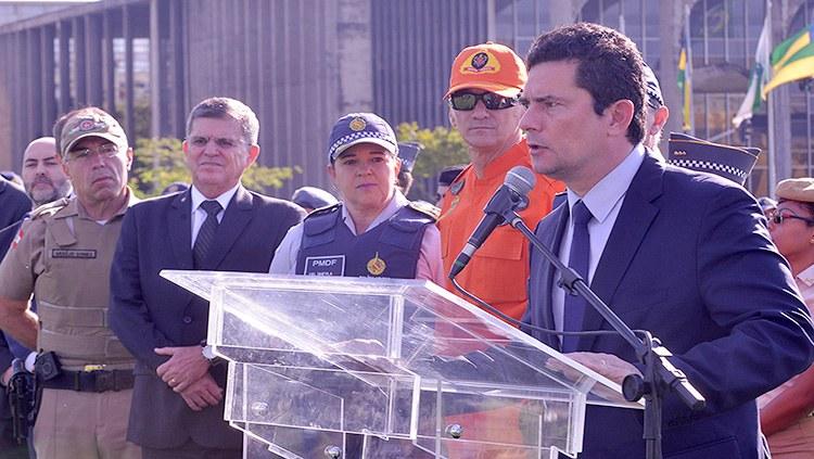 Ministro da Justiça e Segurança Pública participa de lançamento da Operação Tiradentes