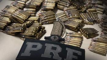 São 673 armas e 119 mil munições apreendidas em 250 dias