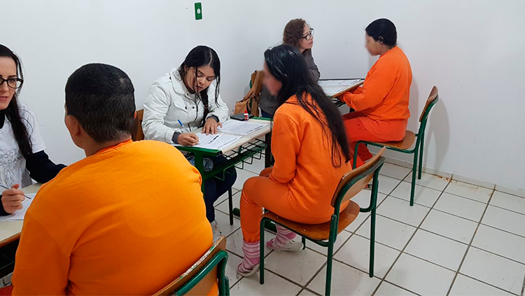 Equipe do Depen leva projeto Identidade Cidadã ao Presídio Regional de Itajaí