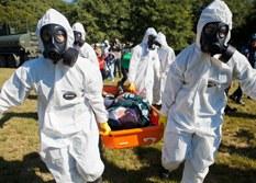RS e MT treinam equipes para situações que envolvam produtos químicos perigosos e explosivos