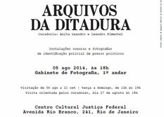 """Exposição """"Arquivos da Ditadura"""" segue até 21 de setembro no Rio de Janeiro"""