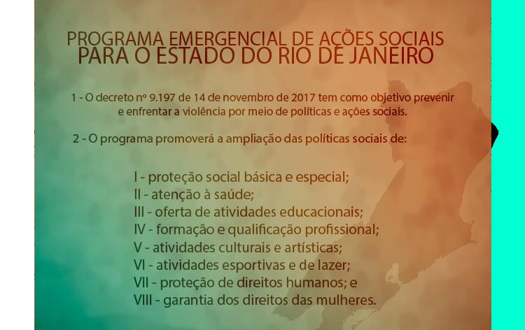 Ações sociais Rio