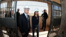 Visita  ministro à penitenciária federal