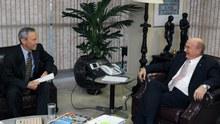 Reunião com embaixador da Espanha no Brasil