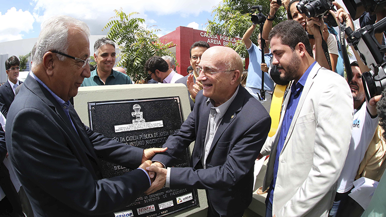 MJSP e Governo de Sergipe inauguram presídio com 390 novas vagas