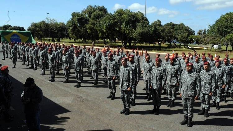MJSP integra 307 novos profissionais à Força Nacional de Segurança Pública