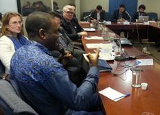 Plenária do Conare tem presença inédita de refugiado