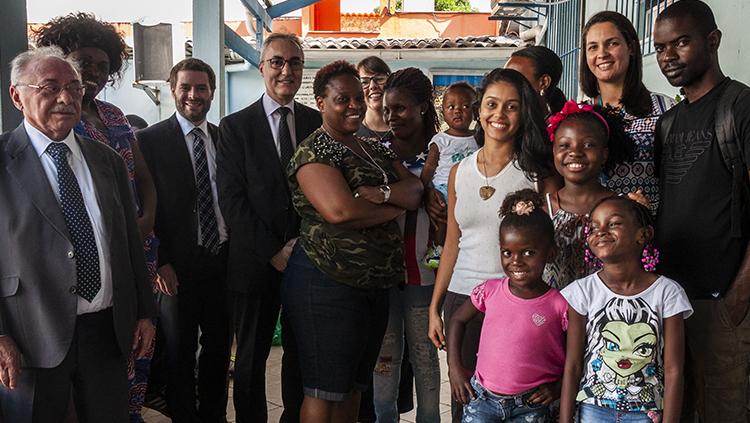 Secretário nacional de Justiça conhece programa de atendimento a refugiados