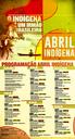 Programação do Abril Indígena