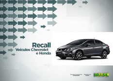 As empresas protocolaram campanha de chamamento para mais de 165 mil veículos