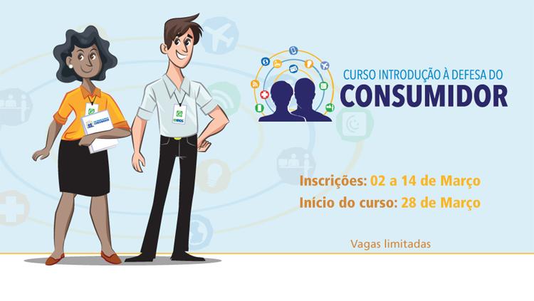 Senacon oferece 3ª edição do curso Introdução à Defesa do Consumidor
