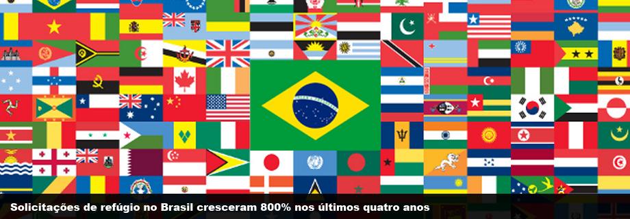 Solicitações de refúgio no Brasil cresceram 800% nos últimos quatro anos 5eafeb4e83422
