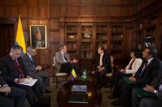 Ministro Raul Jungmann com ministro das Relações Exteriores da Colômbia, Carlos Trujillo. Foto: MRE/Co